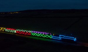 Norfolk Northern lights Express Wells 2020
