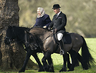 Queen Riding Sandringham Norfolk
