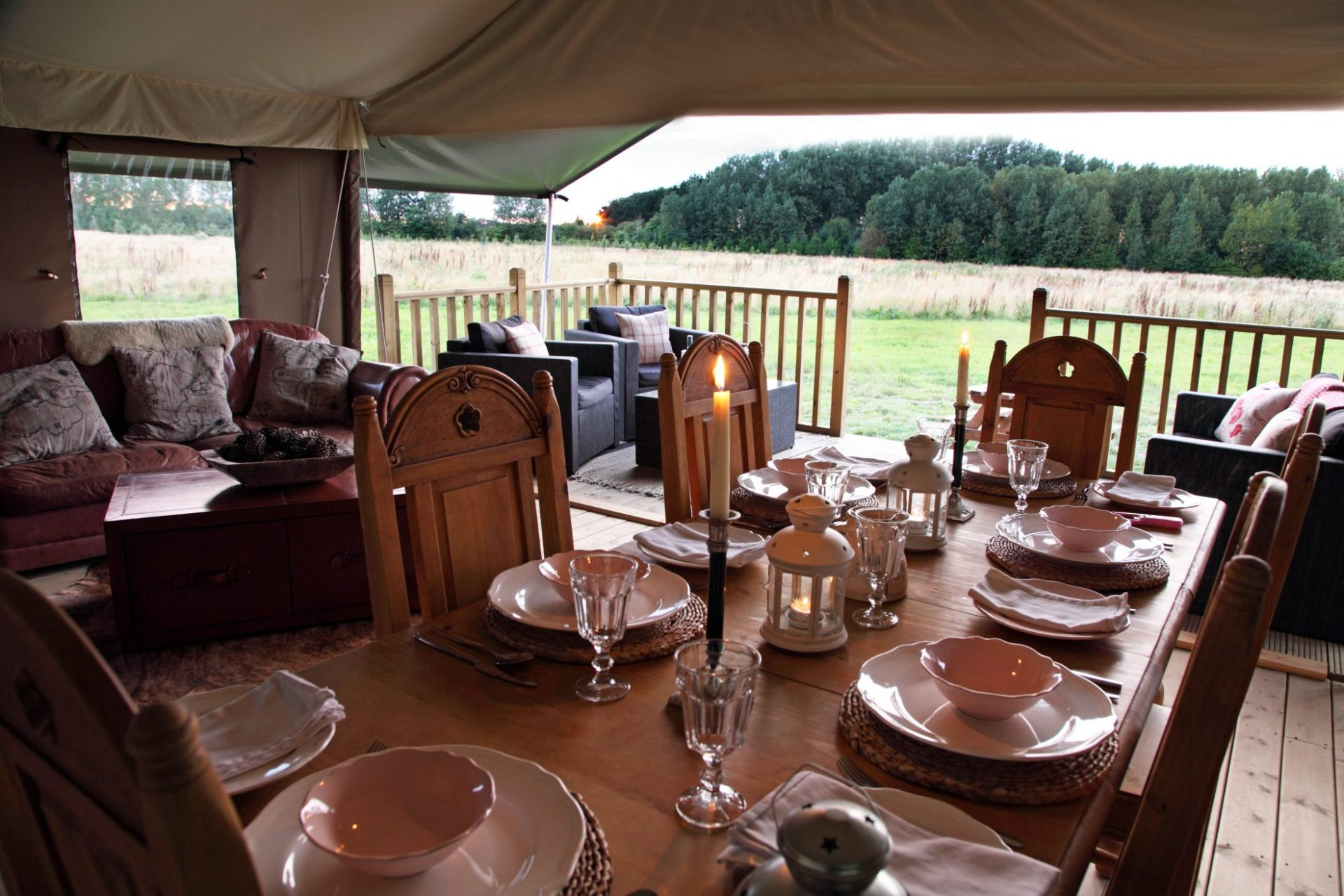 Thornham Glamping Norfolk