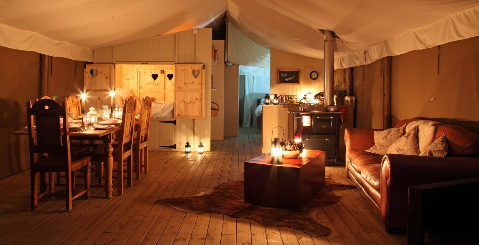 Glamping THornham Norfolk