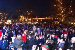 Burnham Market Christmas lights November 2021