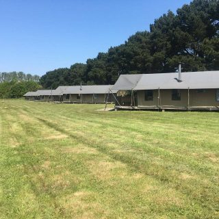30 minutes before check in and Home Field looks very smart for our guests arriving today. #wildluxury #glampinglife ##glamping #norfolkcoast #norfolkhotels #escapetothecountry #escape