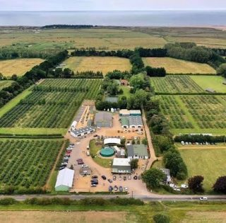 Activity at Drove Orchards as everyone starts to get ready to reopen for April. #thornham #norfolkcoast  #norfolklife  #norfolkhotels